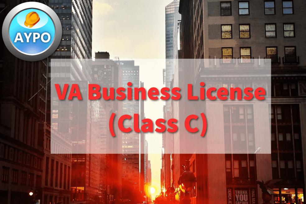 VA Business License (Class C)